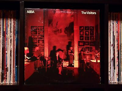 ABBA ♫ The Visitors ♫ Rare Near Mint 1981 Atlantic Records Original LP TOP COPY!