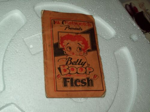 Iva Crustycrotch presents Betty Boop Flesh sexually explicit Betty Boop comic