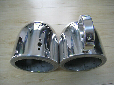 "Pair 6.5"" Polished Aluminum Wakeboard Tower Speaker Pod Enclosures for sale  Azusa"