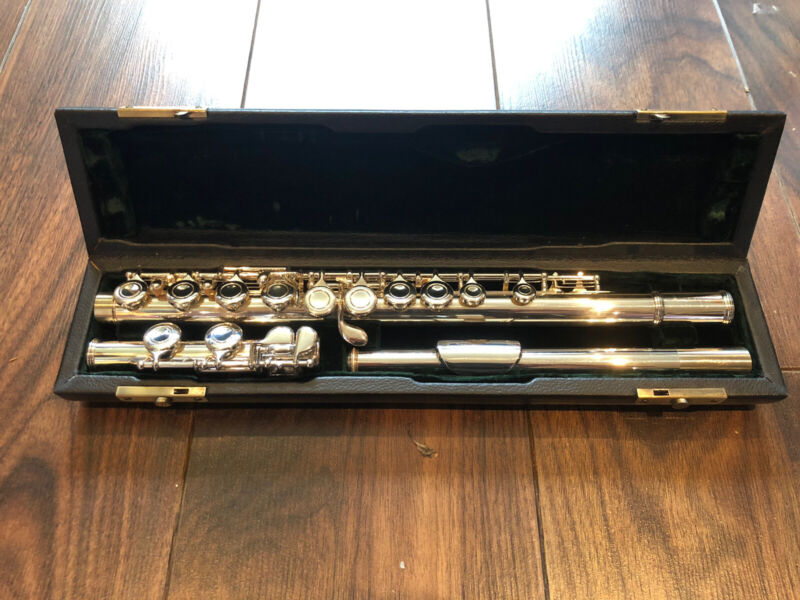 REDUCED ! £30 OFF! Stunning Fully Serviced Beginners Flute With Accessories