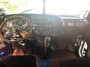 2003 Peterbilt 379 Long Hood 6NZ Flattop