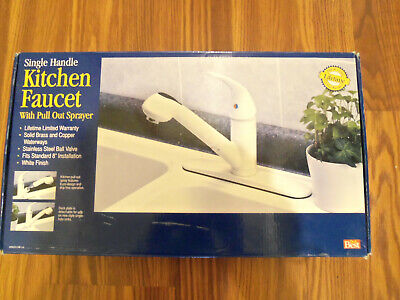 Do IT Best Single-Handle Kitchen Faucet W/Pull Out Sprayer Model