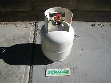 FULL 4KG SUPAGAS TANK PORTABLE LPG CYLINDER BBQ GAS BOTTLE FUEL S Malvern East Stonnington Area Preview