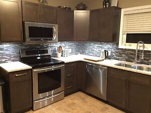 Furnished & All-inclusive bright 1 bedroom basement suite