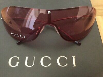 Vintage Gucci pink sunglasses, new with box and paperwork