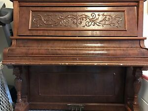 1896 Heintzman & Co. Upright Piano