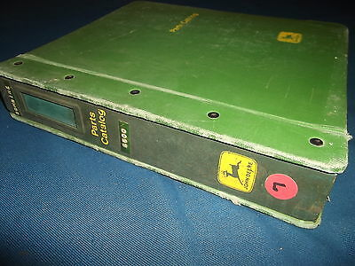 John Deere 6600 Combine Parts Manual Book Pc-1166