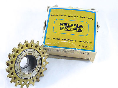 Cassettes, Freewheels & Cogs Nos Maillard 700 Course 6 Speed Ma 19 Flat Silver France.