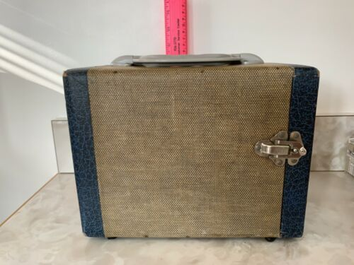 Vintage Zephyr Tweed Photographic Slide Storage Case