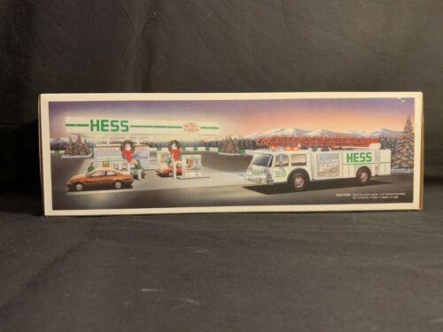 1989 Hess Toy Fire Truck - NIB w/ all inserts
