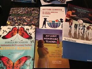 Used textbooks but could also be used as interest reading