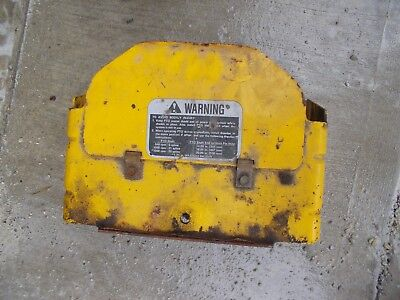 Minneapolis Moline Tractor Original Mm Pto Cover Shield