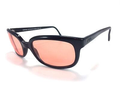 B1 Emporio Armani 577-S 020/42 Large 135 Black Sunglasses Made In (Armani Wayfarer Sunglasses)