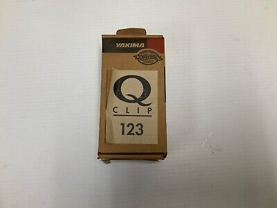 Yakima Q147 Q Tower Clips w// E Pads /& Vinyl Pads #00747 2 clips Q 147 NEW in box
