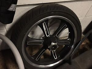 Victory cross country wheel and tire