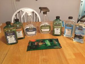 Melaleuca cleaning products lot ecosense