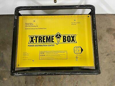 X-treme Box Temporary Power Distribution Center Spider Box