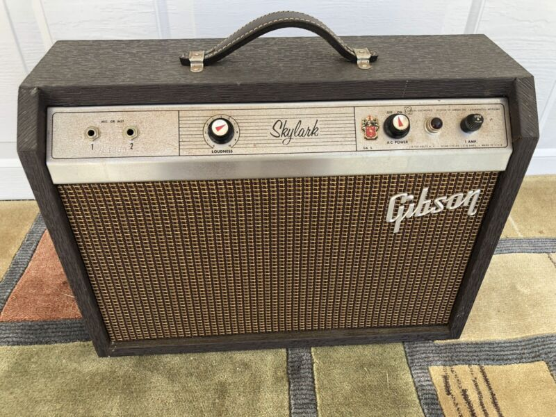 Early 60s Gibson  GA-5 Skylark In Good Working Condition All Original Real Clean