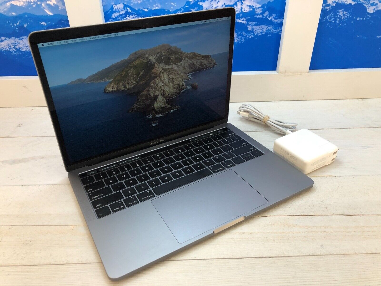 "Apple MacBook Pro Touch Bar 2019 13"" Laptop 128GB 8GB RAM Space Gray Warranty. Buy it now for 1039.00"