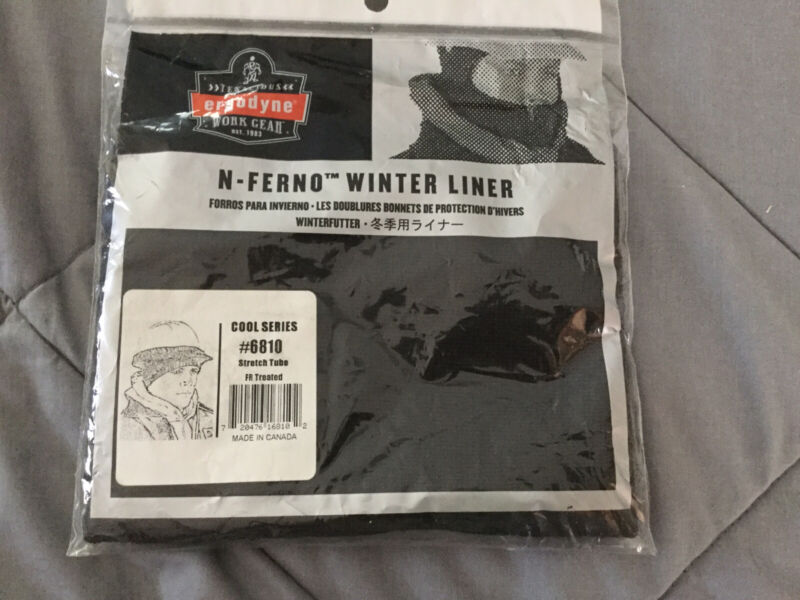 N-Ferno Hard Hat Winter Liner Cool Series #6810 FR Treated Ergodyne NEW SEALED