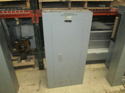 Siemens Main Circuit Breaker Panel Cdp-7 208y120 3ph 4w 100a Main 42-slot Used