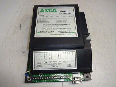 Asco Group 1 Control Panel