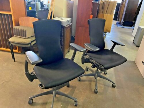 EXECUTIVE CHAIR by HERMAN MILLER EMBODY in BLACK COLOR