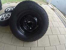 Awesome 4wd 4x4 wheels with Great tyres. Set of 4 Modbury Tea Tree Gully Area Preview