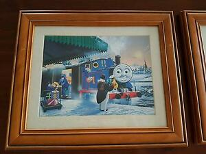 Set of 4 Thomas the Tank Engine Framed Prints East Maitland Maitland Area Preview
