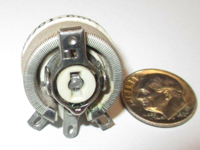 250 OHM 12 1/2 WATT WIRE WOUND RHEOSTAT MEMCOR/OHMITE MIL-SPEC M22/01-001715 NOS