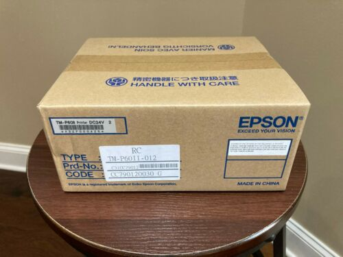 Epson TM-P60II  Printer New Factory Sealed Part Number C31CC79012