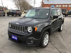 2016 Jeep Renegade North | 4x4 | Heated Seats | Sunroof