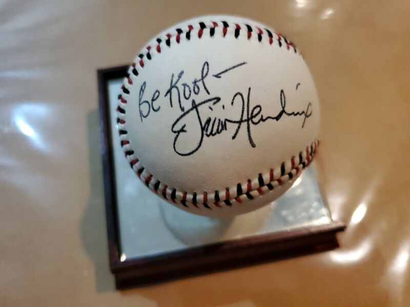 Jimmi Hendrix Signed Replica Ball. OUR BALLS ARE MADE FOR MUSEUMS!