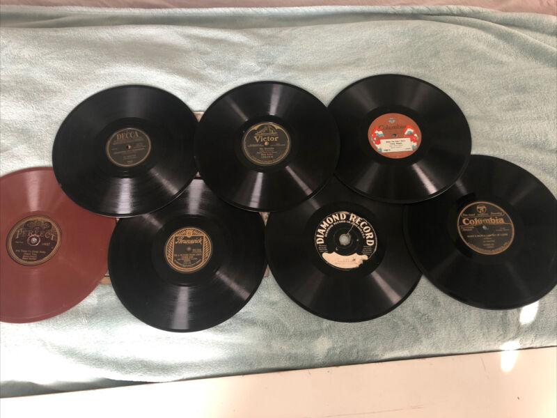 Antique Phonograph Records