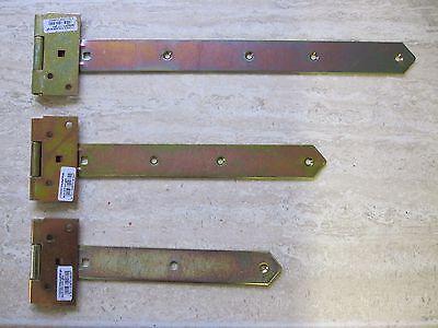 Türbänder Laden Torband Kreuzgehänge Scharnier 300mm halbschwer gelb verzinkt