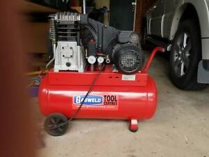 Air Compressor Belt Drive 3HP 270 L/M Twin Piston in Ex Con