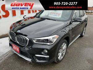 2018 BMW X1 xDrive28i AWD, SUNROOF LEATHER HEATED SEATS