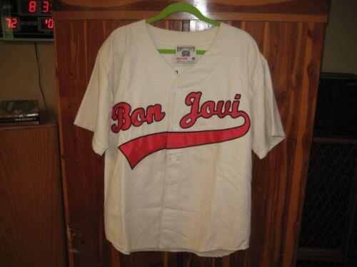 BON JOVI Vintage 1995 Brockum Embroidered Concert Jersey Men