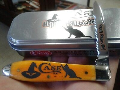CASE XX 2017 TB61028 SS TONY BOSE HAPPY HALLOWEEN POCKET KNIFE NIB ](Halloween 2017 Knife)