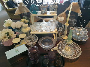 HUGE Selection of Shabby Chic Decor and Cake Stands! Stafford Brisbane North West Preview