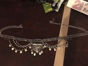 Silver gypsy belt from White Fox boutique. Gillieston Heights Maitland Area Preview