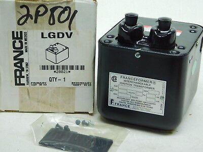 France Transformers Lgdv Oil Ignition Transformer 28021 New In Box Ap