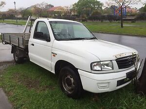 MAZDA B 2500 TURBO DIESEL TRAY UTE AIR COND POWER STEER Melbourne CBD Melbourne City Preview