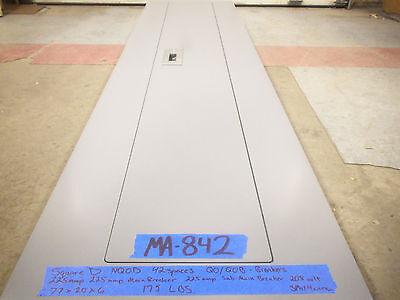 Square D 225 Amp Panel Panelboard 200 150 208v120v 240v Main Breaker Sub 3 Phas