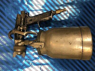 Binks Model 7 Paint Spray Gun W Cup - Vintage Auto Great Condition