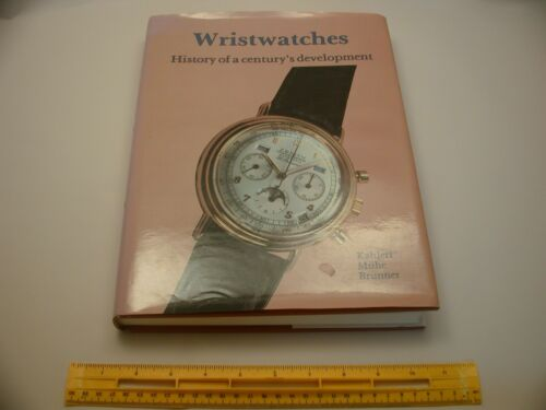 Book 1,042 – Wristwatches: History of a Century's Development