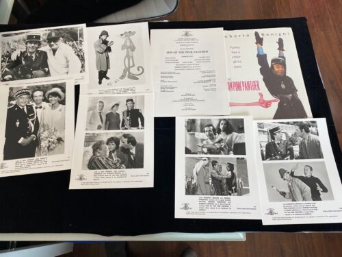 Son of the Pink Panther Movie Kit Photos Original Roberto Benigni Herbert Lom