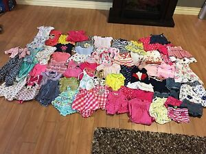 Baby girls summer clothing 6-12 months