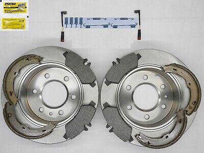 VW Crafter Zimmermann Bremsscheiben Bremsbeläge Warnkontakt für vorne hinten