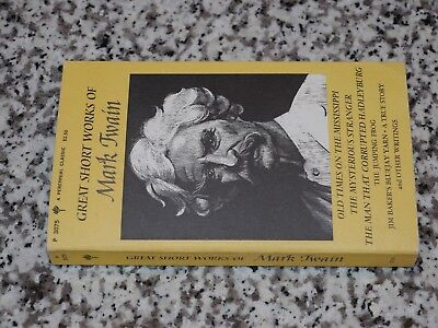 FICTION LITERATURE GREAT SHORT WORKS OF MARK TWAIN Perennial Classic for sale  Perkasie
